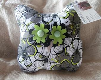11-inch Hootenstein™ Owl pillow