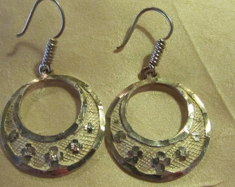 Vintage Mexican Sterling Earrings