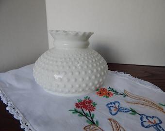Med size milk glass lamp shade