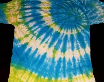 Shoulder Spiral Tie Dye T-Shirt