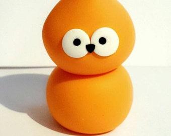 Handmade EDF Zingy Character Orange Blob Figure