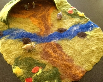 Wetfelted Playscape - ON SALE