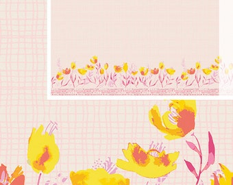 One Yard - 1 Yard of Garden Walk Shine - WONDERFUL THINGS by Bonnie Christine for Art Gallery