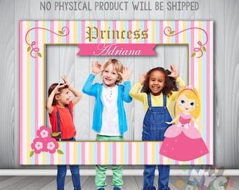 Princess Photo Booth Frame, Ethnic Princess, Photo Booth, Printable Photo Booth Frame, Printable Photo Booth