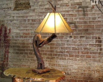 Hollow Log Chandelier Live Edge Walnut Tree Slice Light