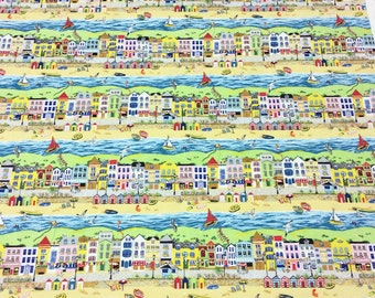 Patchwork Quilting Fabric Nutex Seaside Promenade 11030