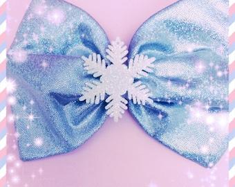 Disneybound Elsa inspired large Hairbow