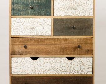 Dresser design printed wood