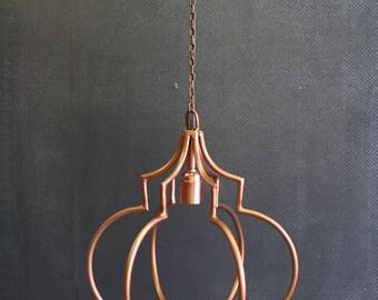 Copper design suspension