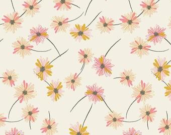 Indie Boheme - Gitan Paradis Pearl by Pat Bravo for Art Gallery Fabrics, 1/2 yard, IBH-64200