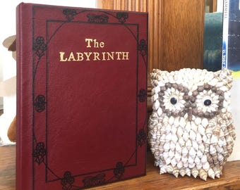 Labyrinth Book (Hardcover Leather bound edition by A.C.H. Smith)