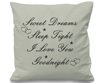 Items Similar To Sweet Dreams Sleep Tight We Love You