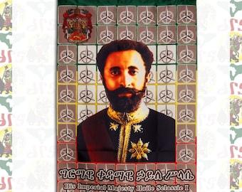 Haile Selassie I [drs]Tapestry(Flag)