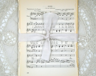 Vintage Paper Book Page Pack: Classical Music for Children