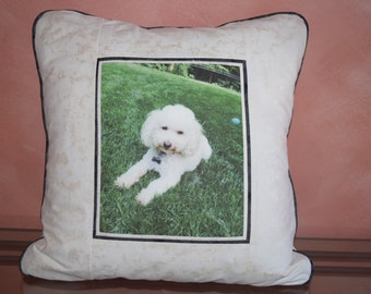 Custom Picture Pillow, Memory Pillow, Personalized Pillow