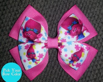 Trolls Poppy Handmade Basic Bow