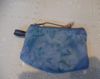 Padded Coin Purse, Change Purse, , Contact Lens Case, Zipper Case, Money Case, Batik Coin Purse, Small Zipper Case,