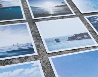 Mini Desk Calendar, Surf Photography Calendar, Ocean Calendar, Surf Calendar, Surf Life Calendar, Surfing Photography