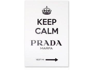Modern painting Keep calm Prada Marfa Gossip Girl - Paintings on Canvas - Ready to Hang