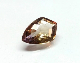 Fancy Ametrine Gemstone 21x14x8 mm 11.35 Cts