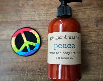 Peace Hand and Body Lotion - Nag Champa - Hand and Body Lotion - Peace Lotion - Hand Lotion - Body Lotion - Vegan Lotion - Karma Collection