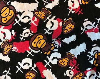 Ninja Monkey's - Cotton Lycra Knit Fabric