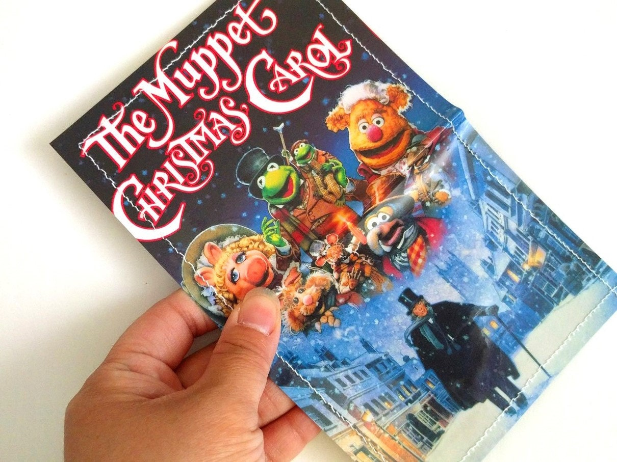 CLEARANCE SALE - Muppet Christmas Carol two pocket VHS cover ...