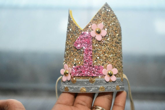 1st birthday crown, custom birthday hat, birthday photo prop, baby birthday outfit