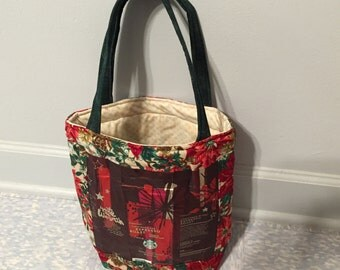 Christmas Starbucks Bag-Tote