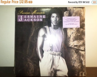 Save 30% Today Vintage 1986 Vinyl LP Funk/Soul Record Precious Moments Jermaine Jackson Near Mint Condition In Shrink 8942