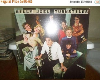 Save 30% Today Vintage 1976 LP Record Billy Joel Turnstiles Columbia Records PC-33848 Excellent Condition 5487