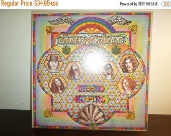 Save 30% Today Vintage 1974 Vinyl LP Record Lynyrd Skynyrd Second Helping Excellent Condition 8198