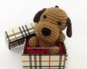 Cute little dog amigurumi crochet pattern