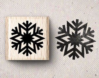 Stamp with snowflake Switje X 1,5 x 1,5 cm