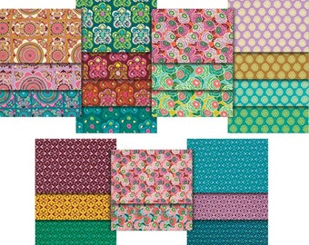 """Dream Weaver 10"""" Charm Pack Fabric From Free Spirit 100% Cotton"""