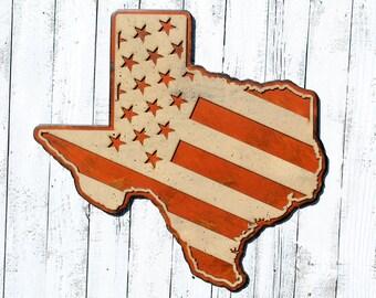 Texas Sign University of Texas Texas Wall Art Texas Decor Texas Longhorns Texas Wall Decor Texas Gift Large Texas Decor Handmade Sign