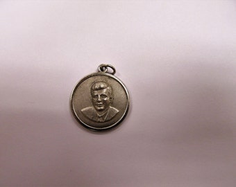 John F. Kennedy Sterling Silver Vintage Charm # #602