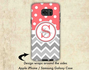 Galaxy Note 5 Case - Galaxy Note 4 Case - Samsung Galaxy S7 Case  - Galaxy S6 Case - Monogram Galaxy S8 Case - Galaxy Note 3 Case