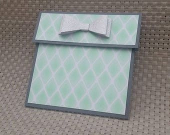 Personalized Gift Card Holder - Also works great with money! (GC0013)