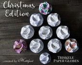 CHRISTMAS Edition - Triskele Paper Globes