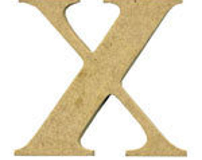 MDF Letter X