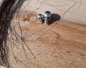 Skull bead small