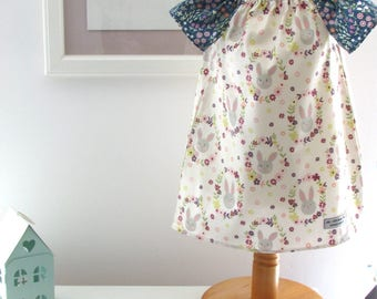 Girls summer Dress and Matching Knickers age 12-18 months