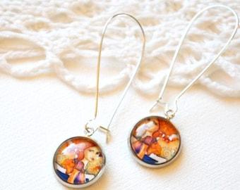 earrings romantic, ad 01