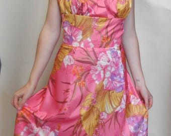 Original 1960s Pink Dress (UK size 10)