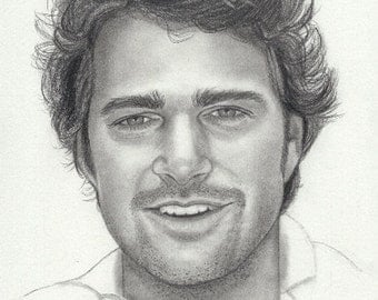 Original drawing of Chris O'Donnell