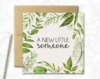 New Baby Card {SWEET VINES}