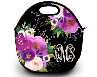 Lunch Bag for Women | Monogrammed | Lunch Bag | Gift for Her Lunch Bag for Women