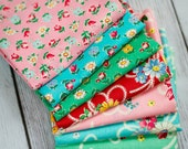 Atsuko Matsuyama 30's Collection Fat Quarter Pack -- Seven pieces