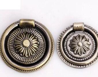 Retro  European  Style Dresser Knob / Ceramic Knob / Cabinet Knobs / Kitchen Door Knob Furniture Hardware Antique 2033